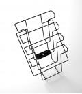 Basket with four racks