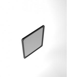 Cadre visuel PVC noir a4/a3 R°V°