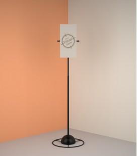 Sound panel holder